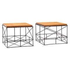 Pair of Side Tables in the Style of Charles and Ray Eames