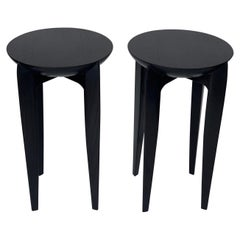 Pair of Side Tables in the Style of Christian Liaigre