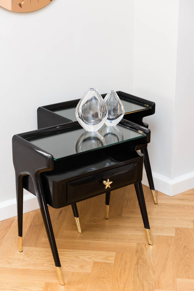 Pair of Side Tables, Italy, circa 1950 For Sale 2
