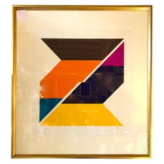 Pair of Signed and Dated Larry Zox Lithographs