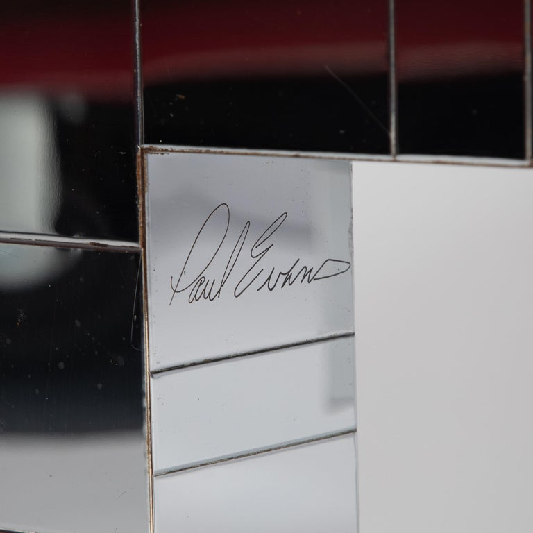 Steel Pair of Signed Paul Evans