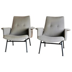 Pair of SK660 Armchairs by Pierre Guariche, France, 1960s