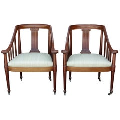 Pair of Skønvirke '1910' Chairs by Johan Rohde