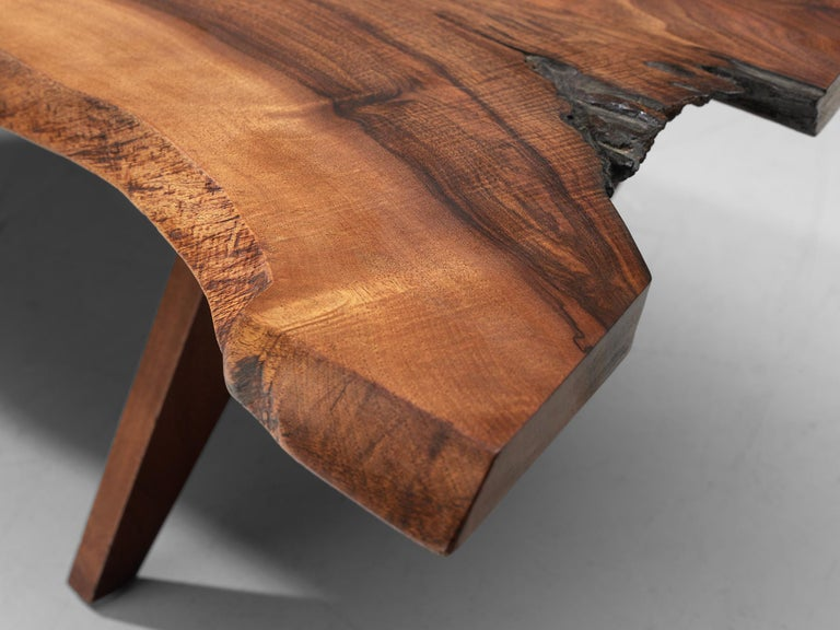 Pair of Slab Coffee Tables by George Nakashima For Sale 13