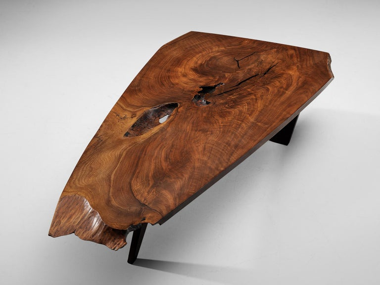 Mid-20th Century Pair of Slab Coffee Tables by George Nakashima For Sale