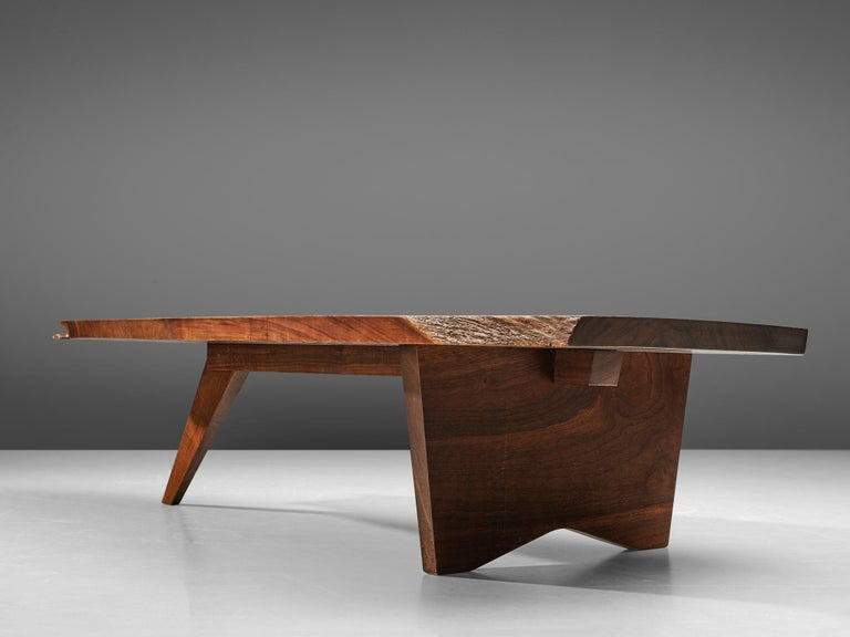 Pair of Slab Coffee Tables by George Nakashima For Sale 1