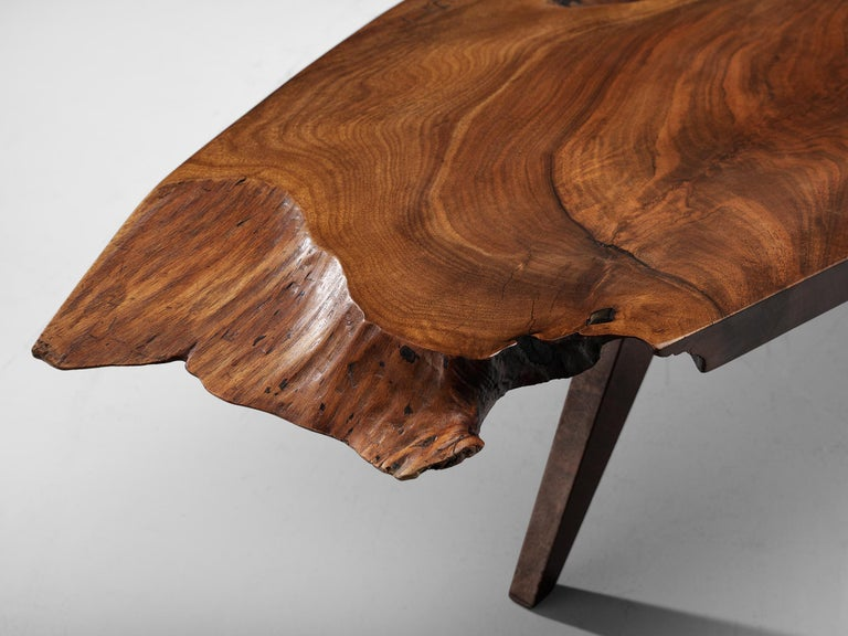 Pair of Slab Coffee Tables by George Nakashima For Sale 2