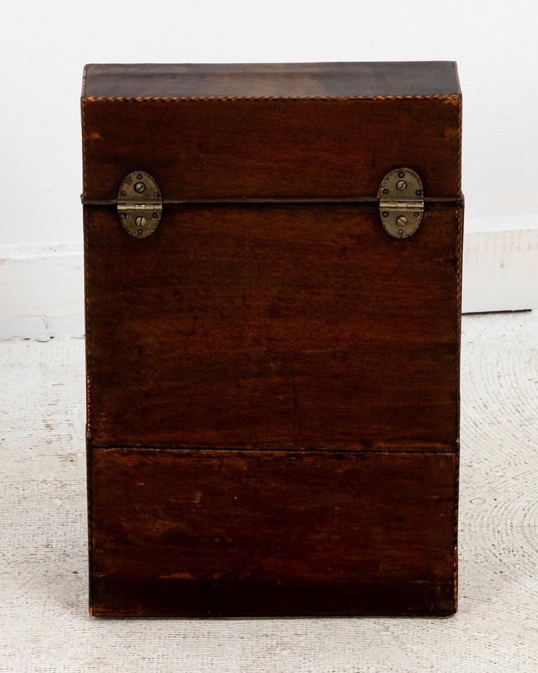 Pair of Slant Front Knife Boxes in the Manner of George Hepplewhite For Sale 1