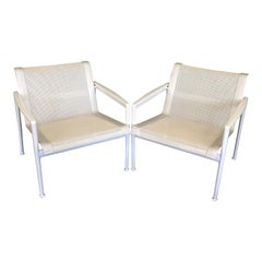 Pair of Sling Lounge Chairs by Richard Schultz for Knoll 1966 Collection