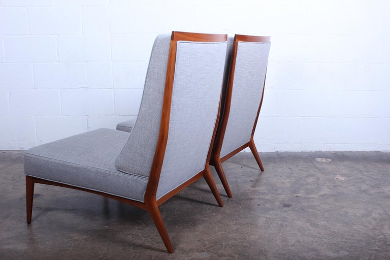 Pair of Slipper Chairs by Paul McCobb For Sale 6