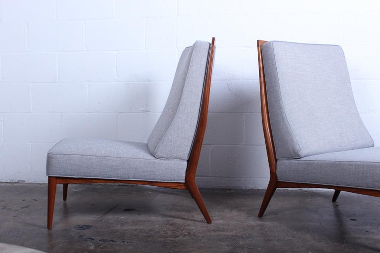 Pair of Slipper Chairs by Paul McCobb In Excellent Condition For Sale In Dallas, TX