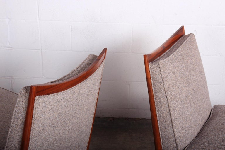 Pair of Slipper Chairs by Paul McCobb For Sale 1