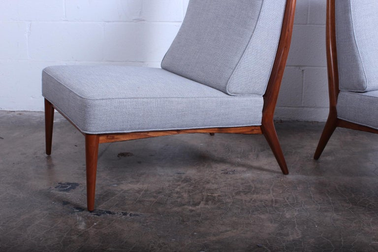 Pair of Slipper Chairs by Paul McCobb For Sale 4