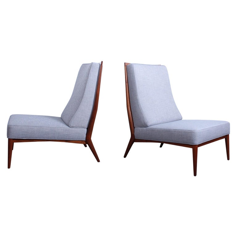 Pair of Slipper Chairs by Paul McCobb For Sale