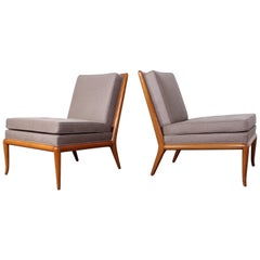 Pair of Slipper Chairs by T.H. Robsjohn-Gibbings