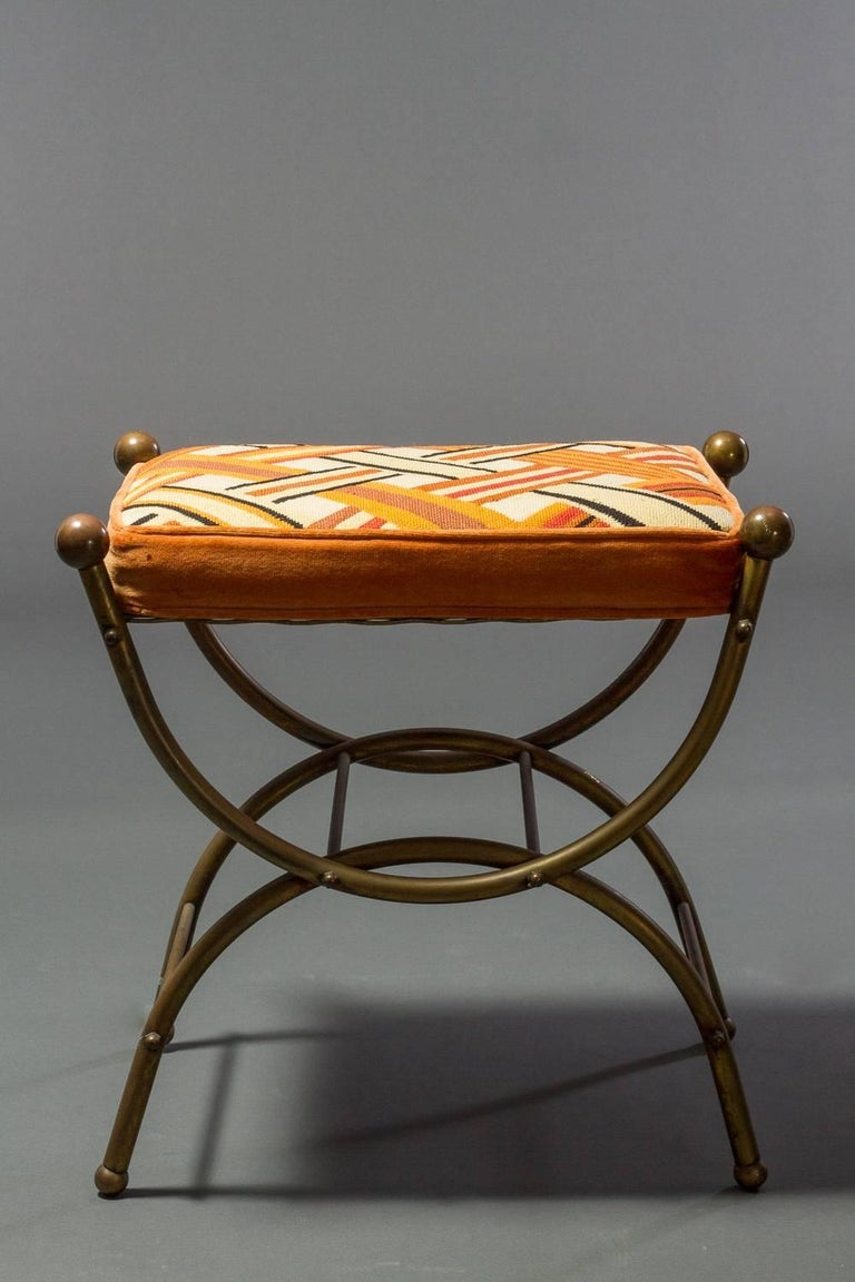Pair Of Small Bronze Stools For Sale At 1stdibs