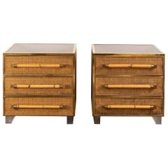 Pair of Small Commodes / Large Nightstands by Sandro Petti