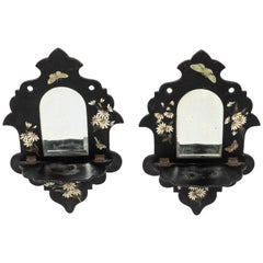 Pair of Small Victorian Wall Shelves