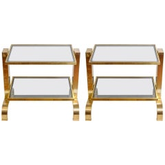 Pair of Small Vintage Tables