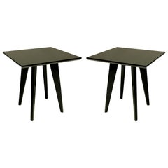 Pair of Sofa Tables in the Manner of Jeanneret