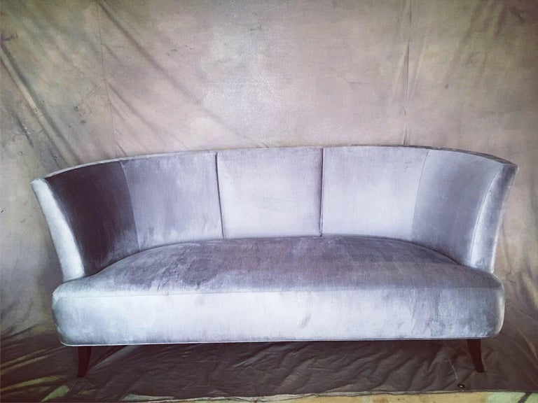 Modern Pair of Sofas by Darren Ransdell Design For Sale