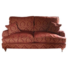 Pair of Sofa's or Settess, English, 3-Seat, 1988, Parker & Farr, Howard & Sons