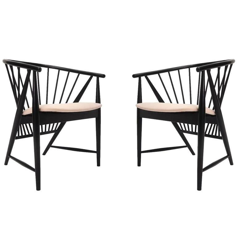 """Pair of Sonna Rosen """"Sunfeather"""" Lounge Chairs"""