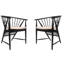 "Pair of Sonna Rosen ""Sunfeather"" Lounge Chairs"