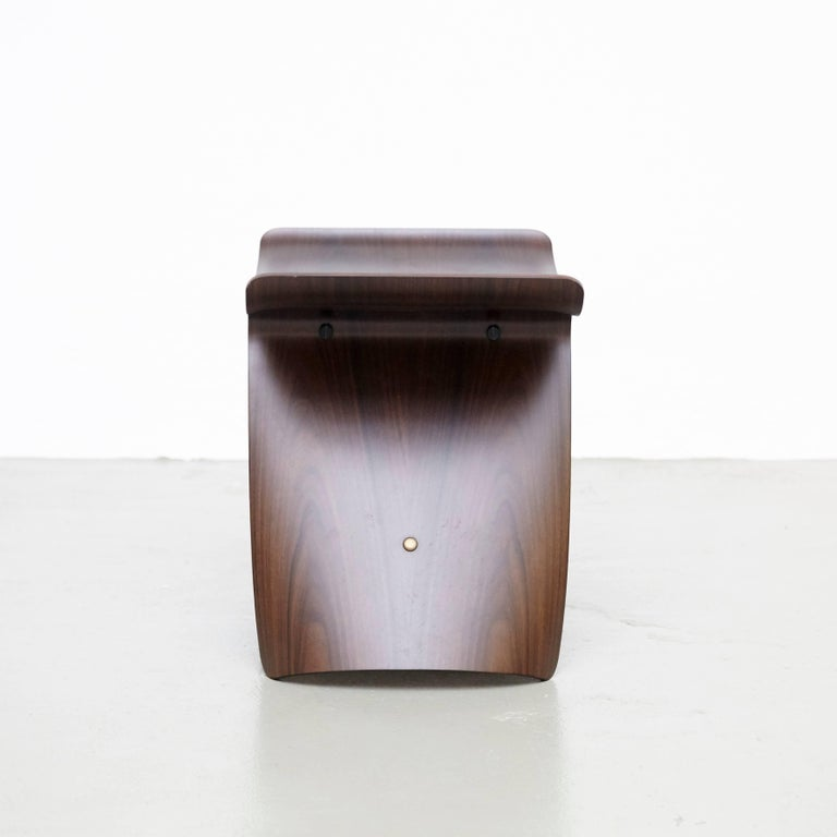 Wood Pair of Sori Yanagi Butterfly Stools For Sale