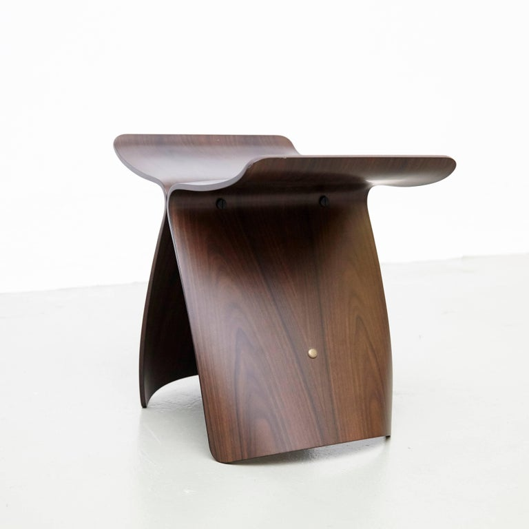 Pair of Sori Yanagi Butterfly Stools For Sale 1