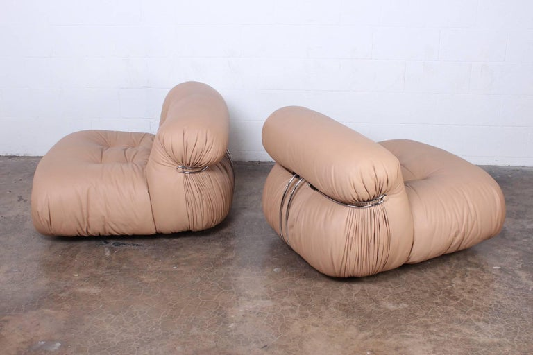 Pair of Soriana Chairs by Tobia and Afra Scarpa 2