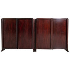 Pair of Sormani Sideboards in Fine Wood, 1950s