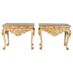 Pair of Spanish 19th Century Console Tables