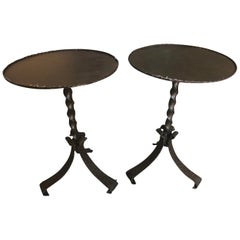 Pair of Spanish Cocktail Tables