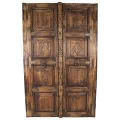 Pair of Spanish Colonial Doors