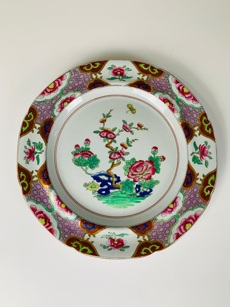 A pair of Spode plates, 9.5