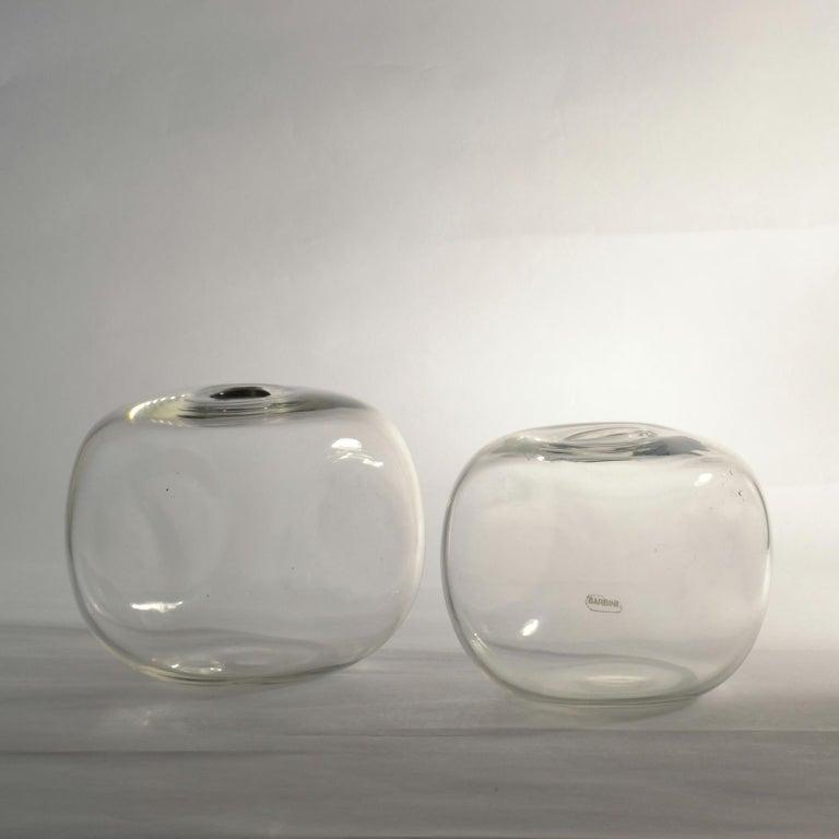 Pair of Square Barbini Vases In Excellent Condition In London, GB