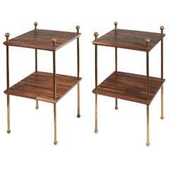Pair of Square Side Table