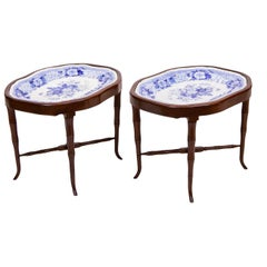 Pair of Staffordshire Tray Tables