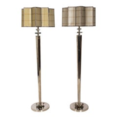 Pair of Standing Lamps by John Richards