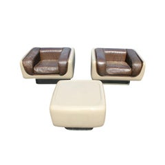 Pair of Steelcase Soft Seating Lounge Chairs