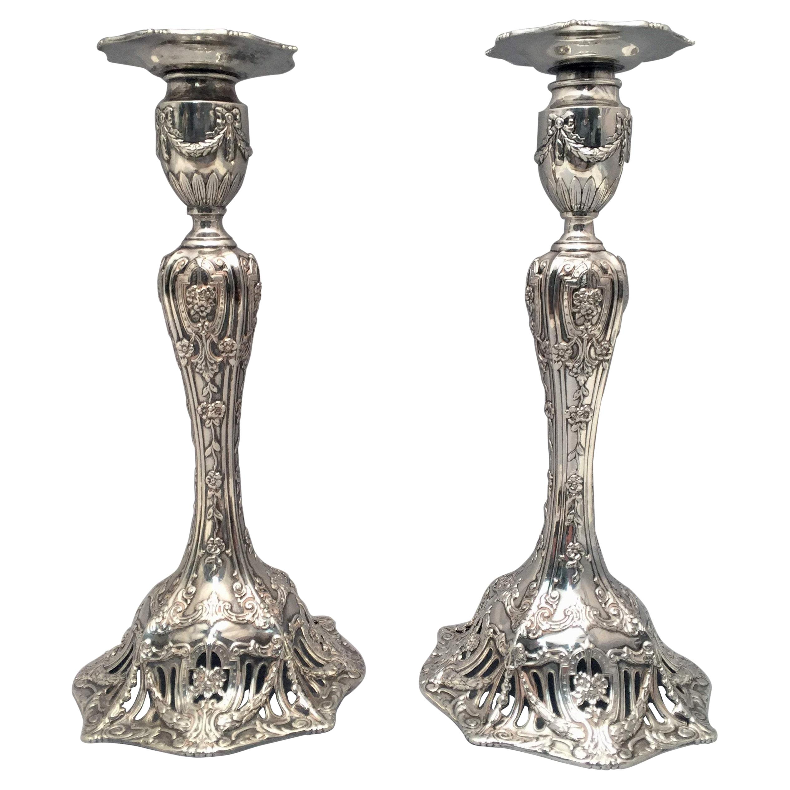 Theodore B. Starr Candle Holders