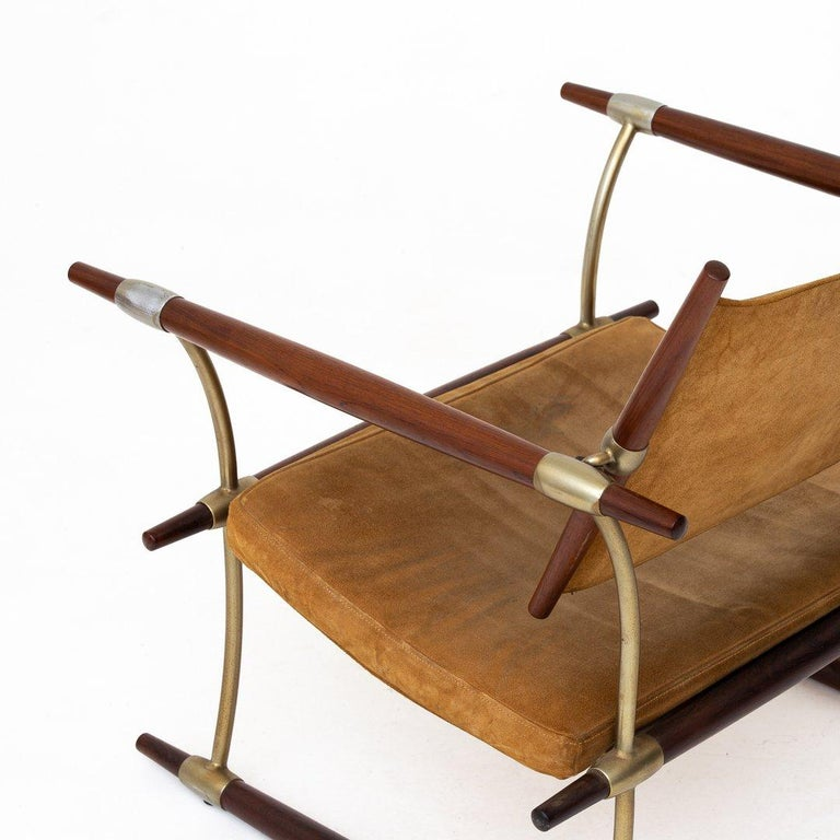 Rosewood Pair of Stick Chairs by Jens Harald Quistgaard For Sale