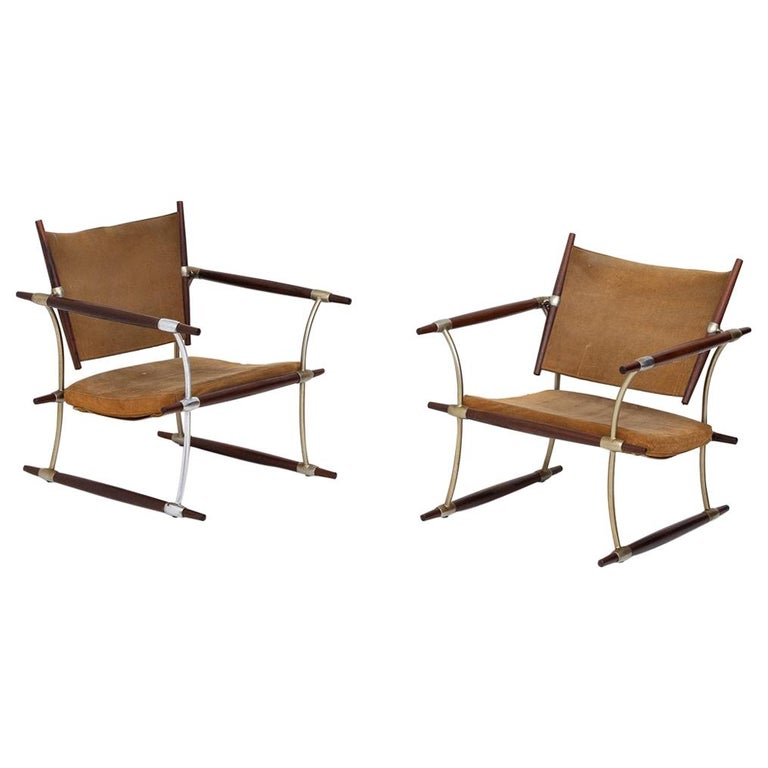 Pair of Stick Chairs by Jens Harald Quistgaard For Sale