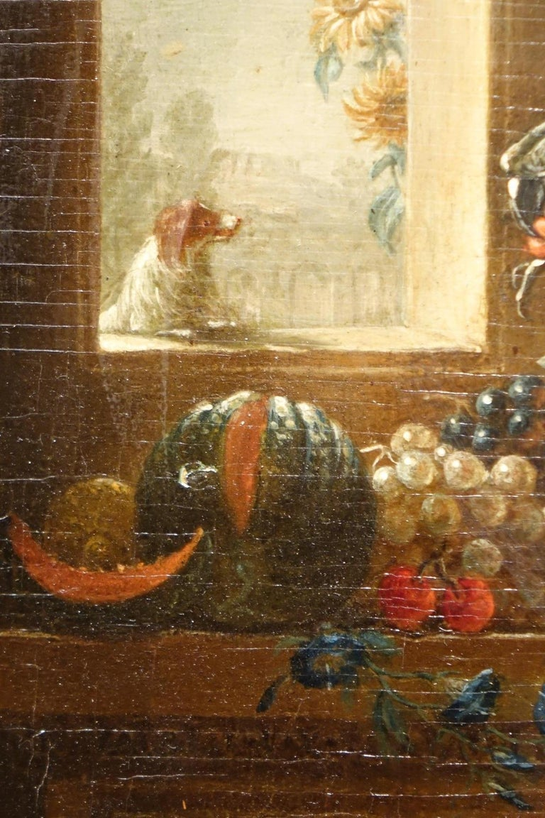 Pair of Still Life Painting, 19th Century French School, Oil on Oak In Good Condition For Sale In Paris, FR