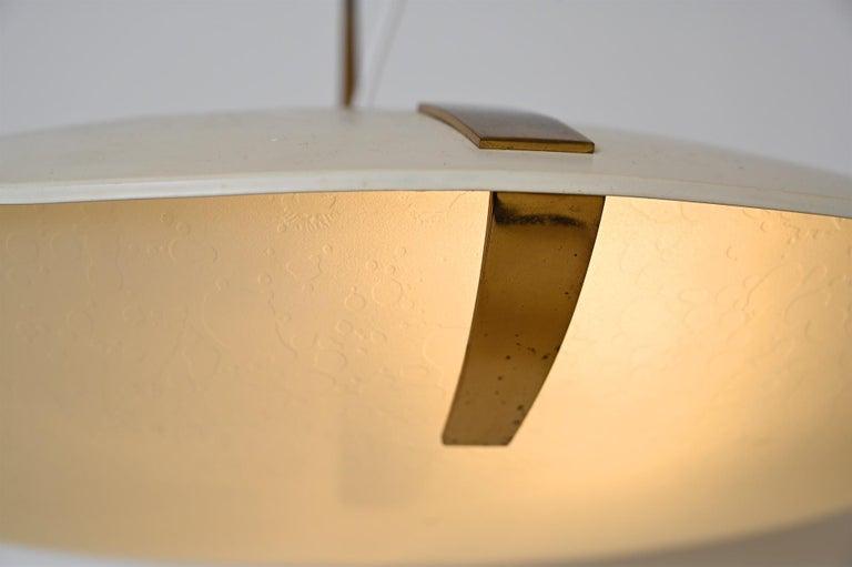 Pair of Stilnovo Ceiling Light Model 1140 For Sale 3
