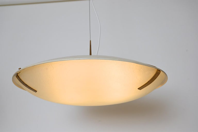 Pair of Stilnovo Ceiling Light Model 1140 In Good Condition For Sale In London, GB