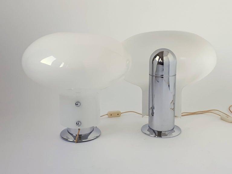 Pair of Stilnovo 'Leuke' Table Lamps, 1970s, Italia For Sale 2
