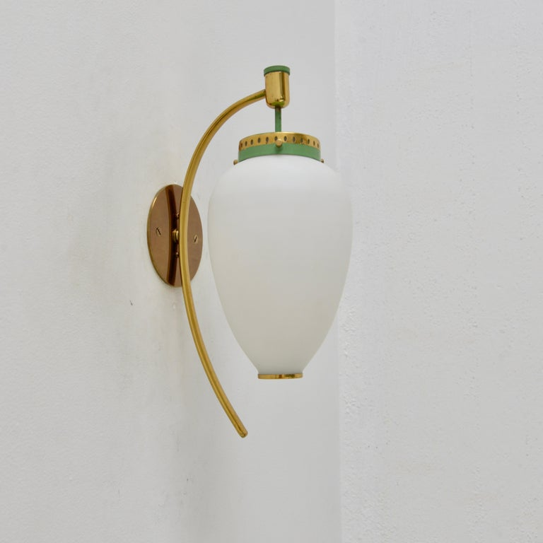 Pair of Stilnovo Sconces In Good Condition For Sale In Los Angeles, CA