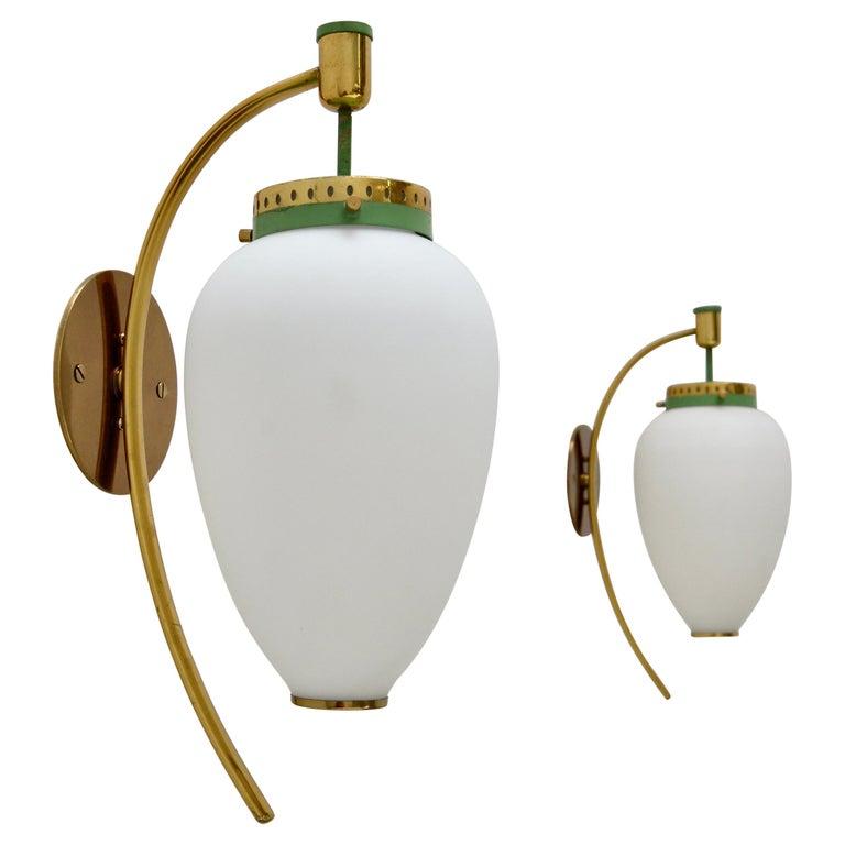 Pair of Stilnovo Sconces For Sale